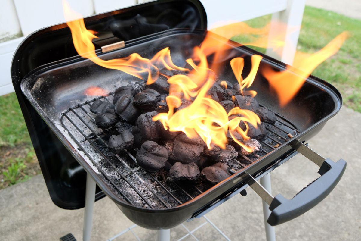 barbacoas de carbon para el hogar